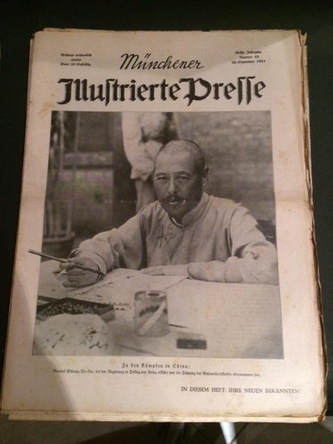 Münchner Illustrierte Presse - Nr. 43 vom: Dzialas, Wilhelm und