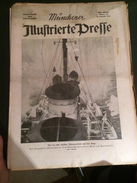Münchner Illustrierte Presse - Nr. 42 vom: Dzialas, Wilhelm und