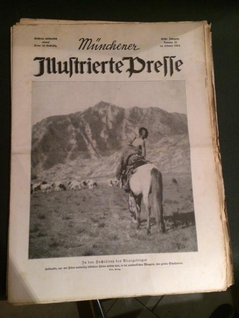 Münchner Illustrierte Presse - Nr. 47 vom: Dzialas, Wilhelm und