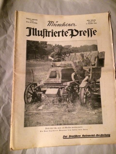 Münchner Illustrierte Presse - Nr. 54 vom: Dzialas, Wilhelm und