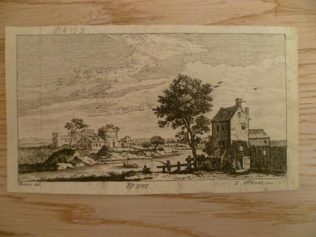 Landschaft). No. 292. Kupferstich von I.G. Hertel: Hertel, Johann Georg.