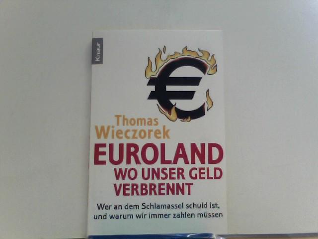 Euroland: Wo unser Geld verbrennt: Wer an dem Schlamassel schuld ist, und warum wir immer zahlen müssen - Wieczorek, Thomas