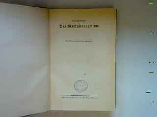 Das Markusevangelium Die Bibelstunde: Gliederung, Erläuterung und: Pieper, Karl, Anton