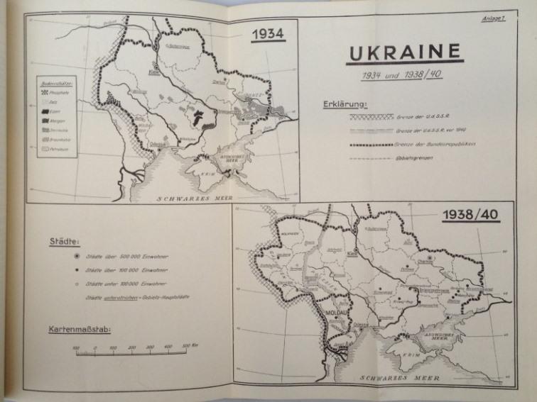 Ukraine. Arbeit der wissenschaftlichen Abteilung des Stickstoff-Syndikates,: Ukraine,