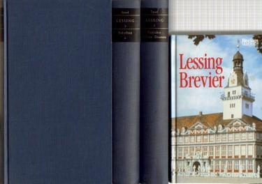 16 Bücher / 1. Lessings Werke: Lessing, Gotthold Ephraim