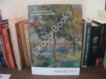 Impressionismus & Klassische Moderne: Auktion: 6. Dezember: Koller Zurich