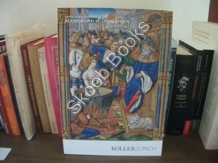 Bucher Und Autographen: Auktion: 21. September 2013: Koller Zurich