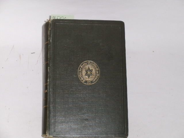 Goethes Briefwechsel mit Heinrich Meyer. Erster Band: Hecker