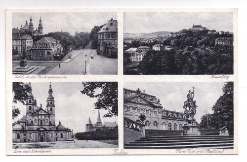 Postkarte: Fulda