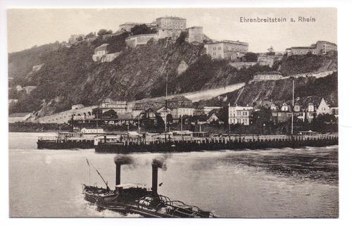 Postkarte: Ehrenbreitstein a. Rhein: Festung Ehrenbreitstein