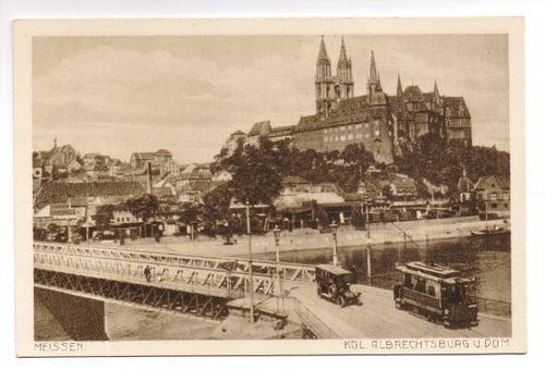 Postkarte: Kgl. Albrechtsburg u. Dom: Meissen