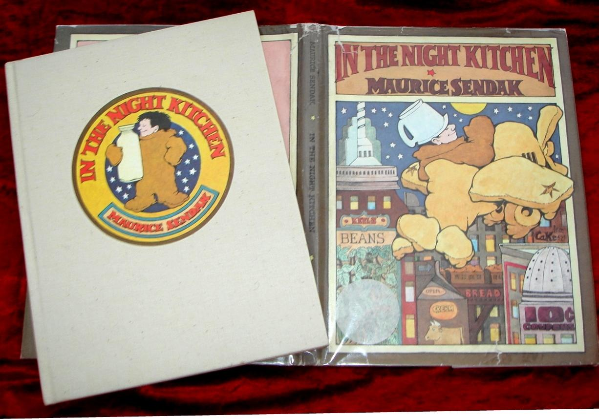 In The Night Kitchen Bonus Book Where The Wild Things Are Par Maurice Sendak Good Hardcover 1970 Modern First Printings