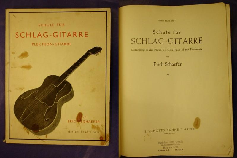 Schule für Schlag-Gitarre - Einführung in das: Schaefer, Erich
