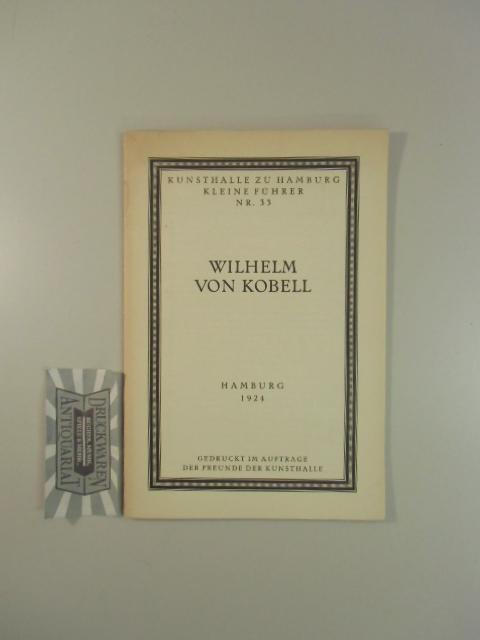 Kunsthalle zu Hamburg, Kleine führer, Nr. 33: Börger, Hans: