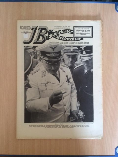 Illustrierter Beobachter - 13. Jahrgang, Folge 21: Loder, Dietrich: