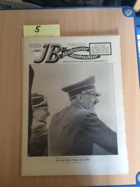 Illustrierter Beobachter - 13. Jahrgang, Folge 20: Loder, Dietrich: