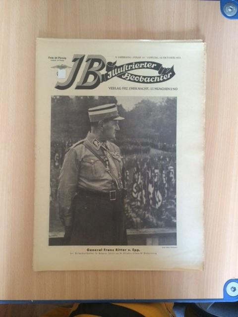 Illustrierter Beobachter - 8. Jahrgang, Folge 41: Loder, Dietrich: