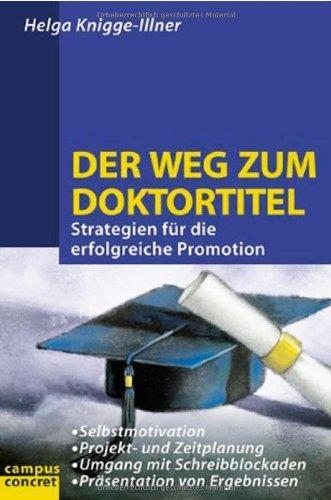 Literaturverzeichnis Doktortitel