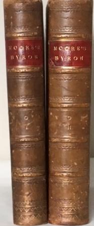 LETTERS AND JOURNALS OF LORD BYRON with: MOORE, Thomas.