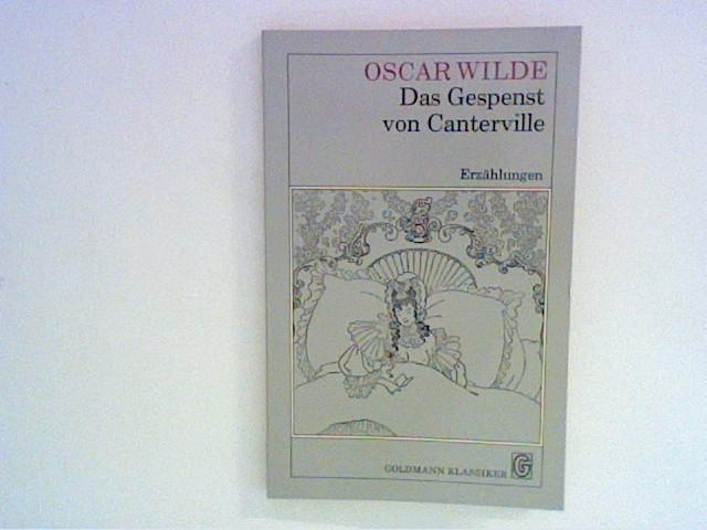 Das Gespenst von Canterville und andere Erzählungen.: Wilde, Oscar: