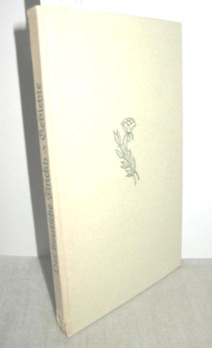 Der deutsche Finckh - Gedichte: SEIBOLD, KARL (Hrsg.):