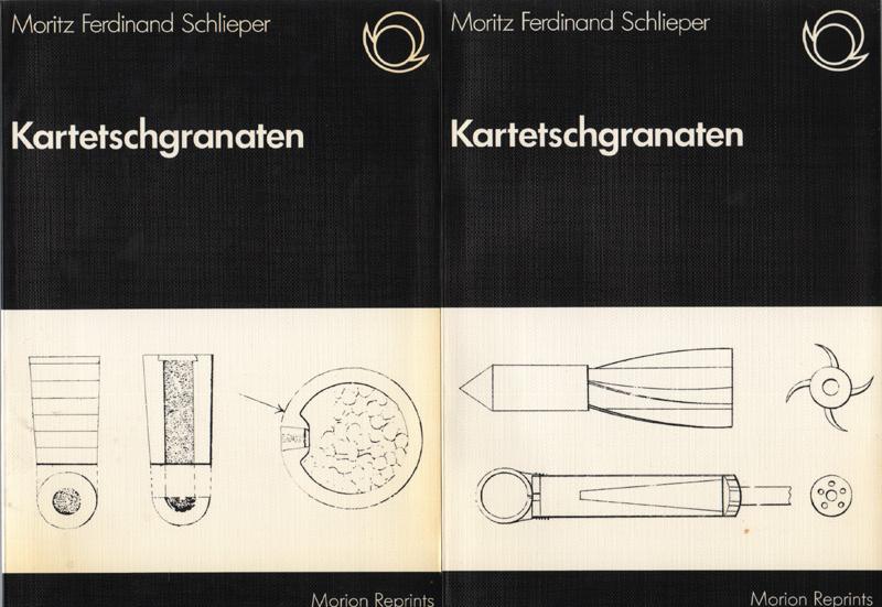 Kartetschgranaten Erstes und Zweites Heft 2 Bände: Schlieper, Moritz Ferdinand: