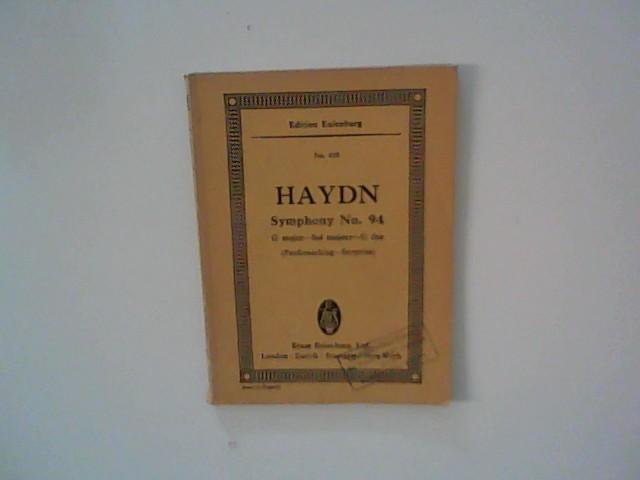 Symphony No. 94 (London No. 3) G: Haydn, Joseph: