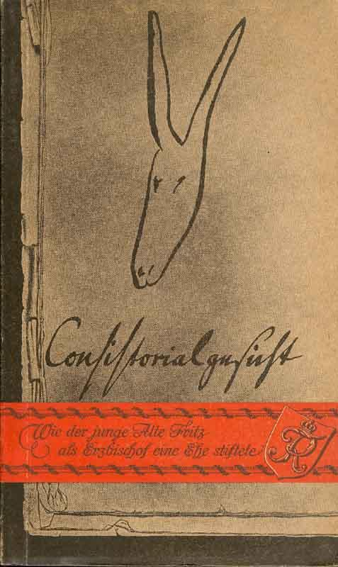 Consistorialgesicht: Krause, Rudolf (Hrsg.):