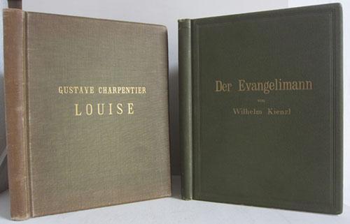 Louise - Musik-Roman in vier Akten und: Charpentier, Gustave /
