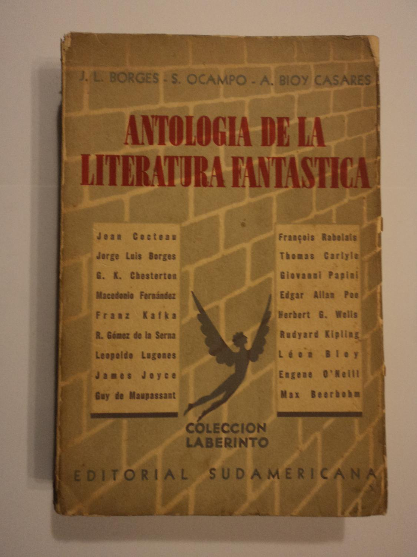 Jorge Luis Borges Silvina Ocampo Antologia Literatura Fantastica Abebooks