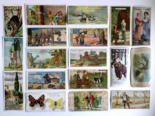 226 farbige Kaufmannsbilder: Gartmann, C. H.