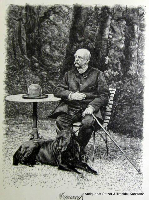 Fürst Bismarck. Siebzig Jahre 1815-1885. Ein Lebensbild: Bismarck. -- Wiermann,