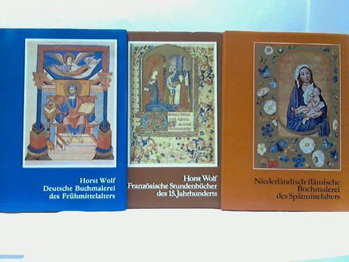 3 verschiedene Bände: Wolf, Horst