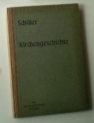 Abriß der Geschichte der christlichen Kirche für: Schiller, Julius