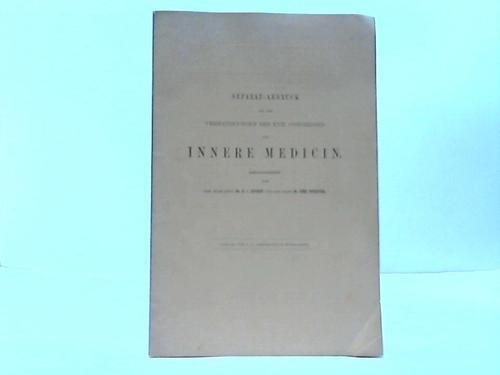 Separat-Abdruck aus den Verhandlungen des XVII. Congresses: Leyden, E. v.