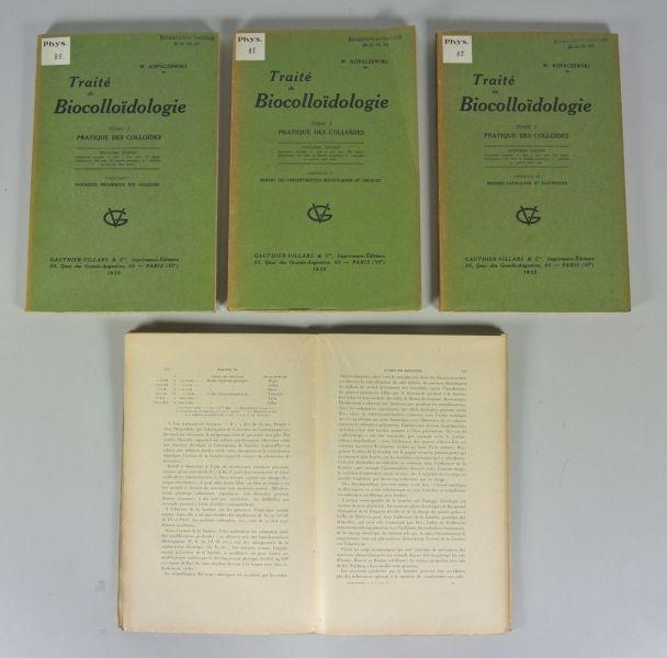 TRAITE DE BIOCOLLOIDOLOGIE, Tome I: PRACTIQUE DES: Kopaczewski, Wladislas: