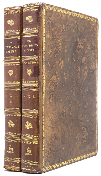 The Sportsman's Cabinet; or, a Correct Delineation: Dogs) [Taplin, William]