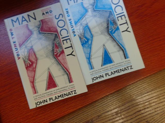 Man and Society : A Critical Examination: Plamenatz, John