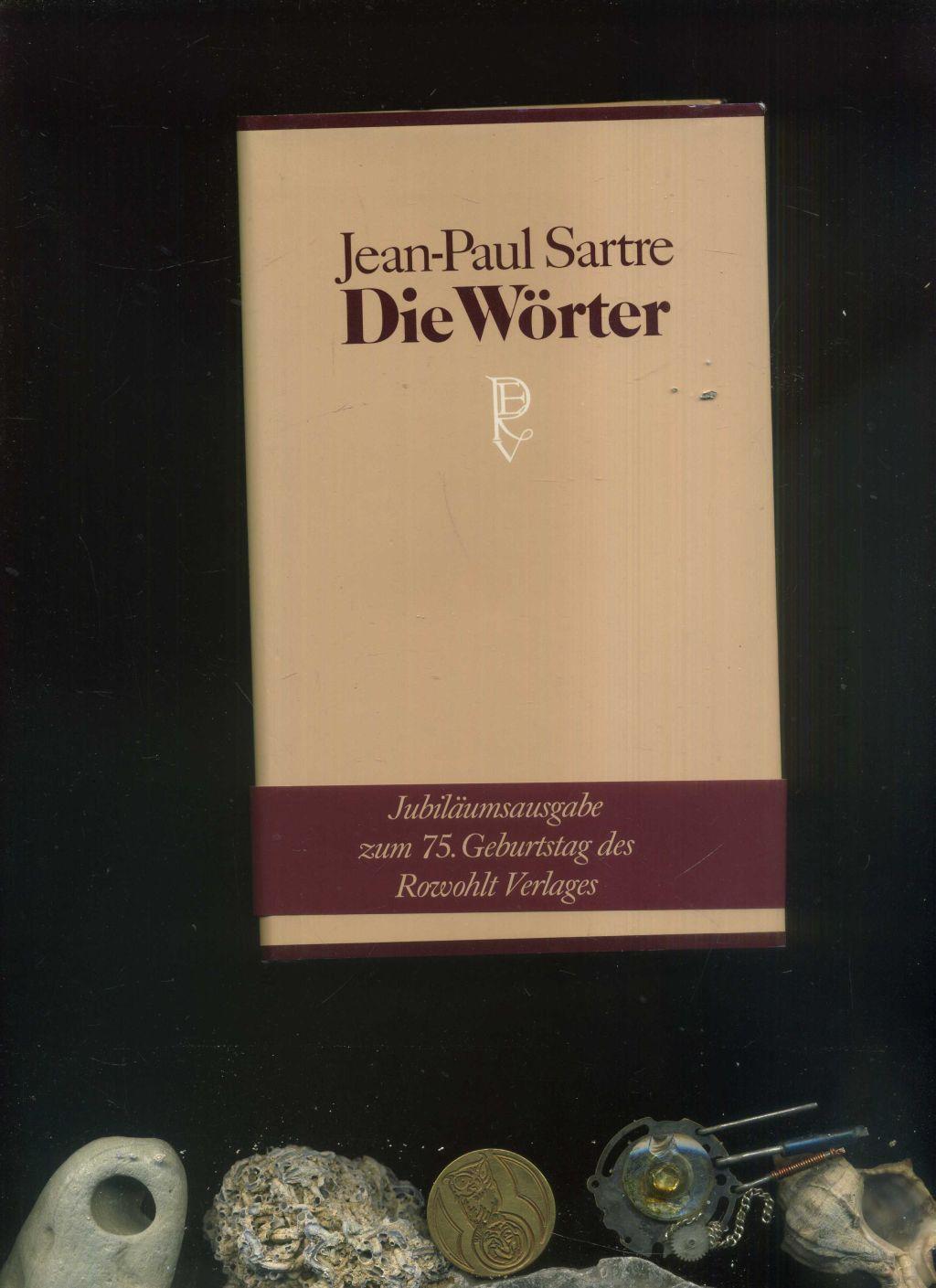 Die Wörter. Jubiläumsausgabe Pappband.: Sartre, Jean Paul: