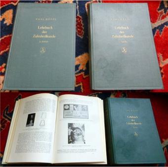 Lehrbuch der Zahnheilkunde. Erster und zweiter Band.: Karl Häupl (1893