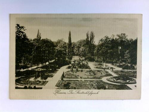 Postkarte: Hanau - Im Stadtschlosspark: Hanau