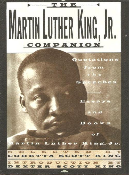 book essay jr king luther martin quotation speech