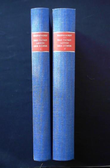 Das Privatleben der Römer, Teil 1-2: Marquardt, Joachim