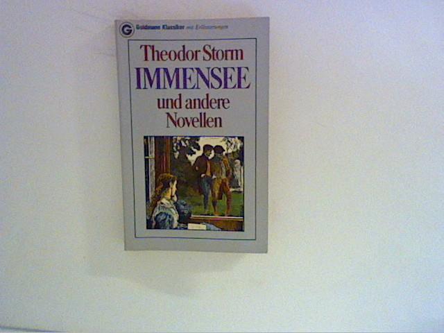 Immensee und andere Novellen.: Storm, Theodor:
