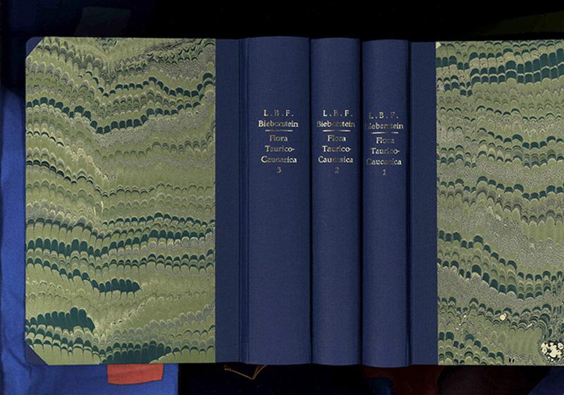 Flora Taurico-Caucasica; Volumen 1- 3: Bieberstein, von, Friedrich