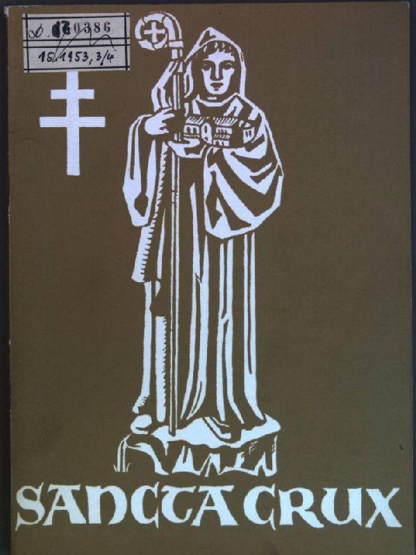 Sancta Crux: Zeitschrift des Stiftes Heiligenkreuz; Nr.: Stift Heiligenkreuz [Hrsg.]: