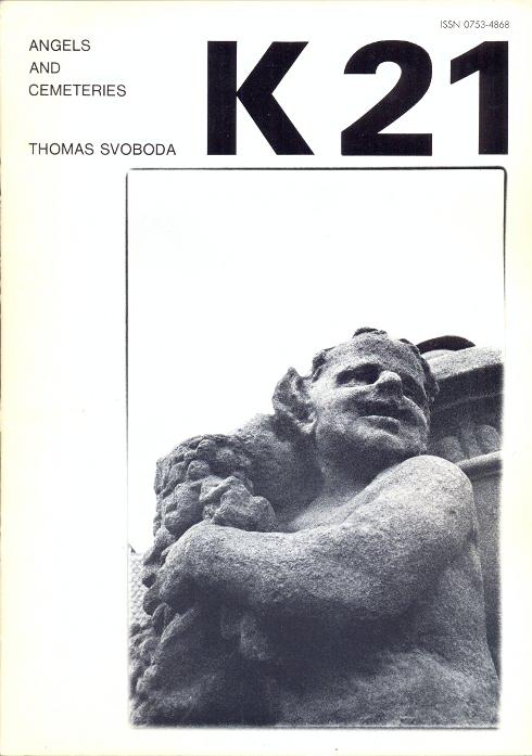Revue K 21. Revue trimestrielle - Decembre: Kolar, Jiri