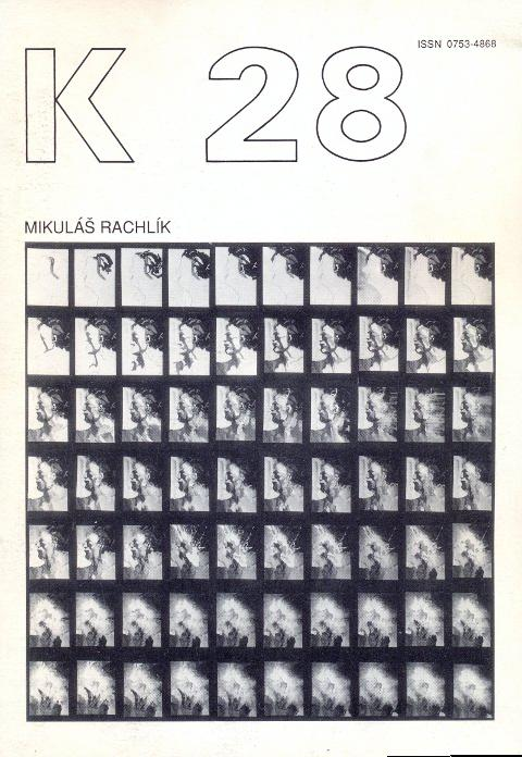 Revue K 28. Revue trimestrielle - Septembre: Kolar, Jiri