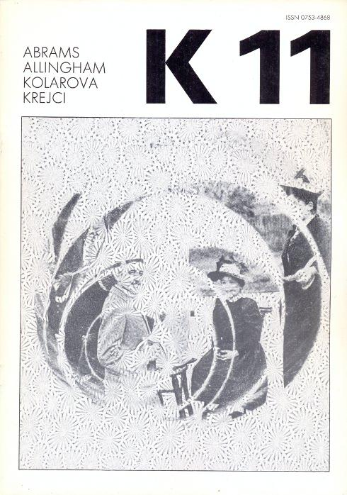 Revue K 11. Revue trimestrielle - Avril: Kolar, Jiri