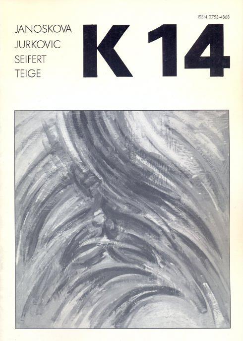 Revue K 14. Revue trimestrielle - Mars: Kolar, Jiri